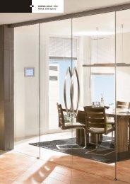 DORMA AGILE 150/ AGILE 150 Syncro - DORMA Interior Glas