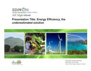 The Underestimated Solution - Energy Development in Island Nations