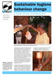 Sustainable hygiene behaviour change - BVSDE