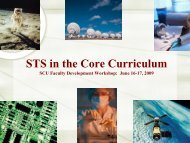 Shannon Vallor's presentation at the STS core curriculum workshop ...