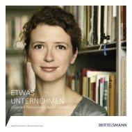 CR Bericht 2010/2011 - Bertelsmann AG