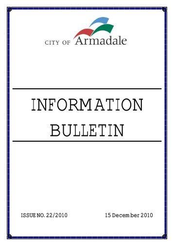 Bulletin (PDF 18.3 MB) - City of Armadale