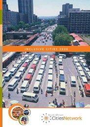 INCLUSIVE CITIES 2008 - Urban LandMark
