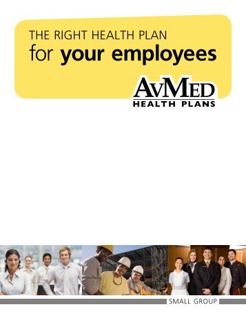 Small Group Administrative Manual - AvMed