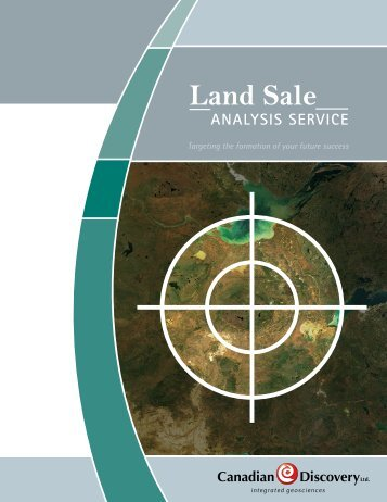 Land Sale Analysis Brochure - Canadian Discovery Ltd.
