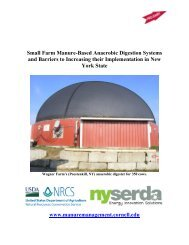 Small Farm Anaerobic Digestion Systems and Barriers to Increasing ...