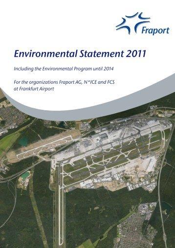 Environmental Statement 2011 - Fraport AG