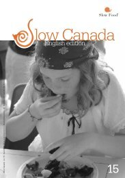 Slow Food Low Canada