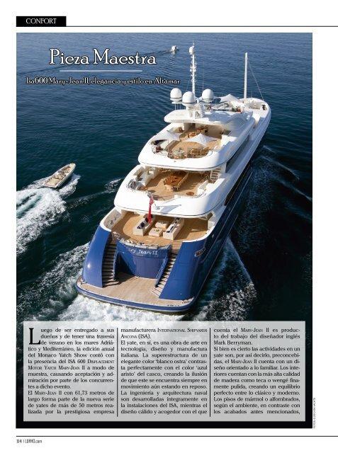 Pieza Maestra - ISA Yachts