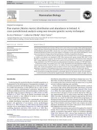 published paper - People's Trust for Endangered Species
