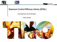 Exposure Control Efficacy Library