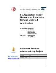 SAP White Paper - F5 Networks