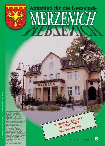 Fliesen legen und mehr - Gemeinde Merzenich