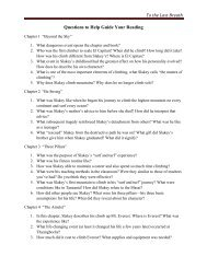 To the Last Breath Questions to Help Guide Your Reading