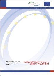 ExMP č. 12 Změny v projektech - ROP Severozápad