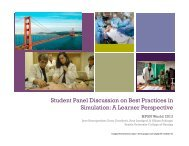 Student Panel Discussion.pptx - Human Patient Simulation Network