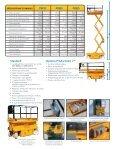 Platesformes élevatrices motorisées électriques - Dickner Inc. - Page 3