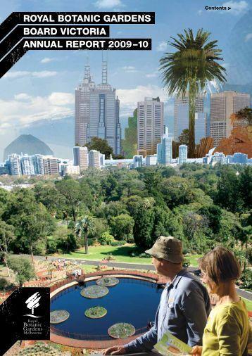 Royal Botanic Gardens Board Annual Report 2009-2010