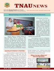 September - TNAU Agritech Portal