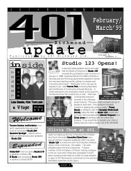 February/March 99 Issue - 401 Richmond