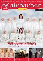 Weihnachten in Aichach - MH Bayern