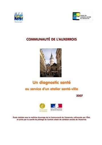 Un diagnostic santé - ORS Bourgogne
