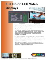 Full Color LED Video Displays.pdf - Colorado Time Systems