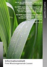 Ausgabe Juli / August 2010 - FMG Lausen