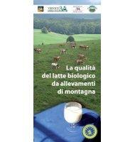 La qualità del latte biologico - Veneto Agricoltura