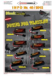 power for traxxas - Speedmodels.com