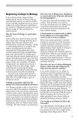 C o l l e g e o f B i o l o g i c a l S c i e n c e s - University Catalogs - Page 5