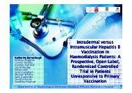 ntradermal Versus Intramuscular Hepatitis B Vaccination In ...