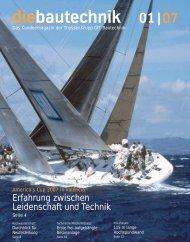 diebautechnik 01 | 07 - ThyssenKrupp Bautechnik