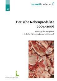 Tierische Nebenprodukte 2004-2006 - Umweltbundesamt