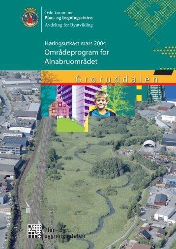 Områdeprogram for Alnabruområdet - Plan