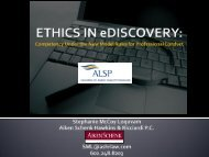 Ethics in eDiscovery: Competency Under the New Model Rules for ...