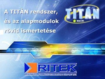 Titán és kapcsolódó alkalmazások - Fujitsu info
