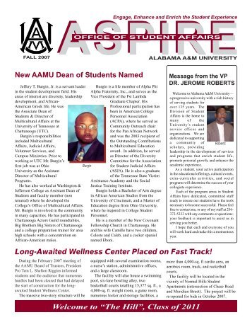 aspire - Welcome to Alabama A&M University