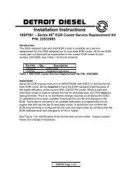 18SP581 – Series 60® EGR Cooler Service Replacement ... - ddcsn