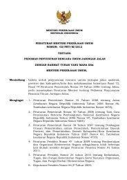 02/prt/m/2012 tentang pedoman penyusunan rencana umum ...