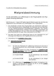 Gebührenordnung Teil 3 - Grüß Gott am Flugplatz Straubing ...