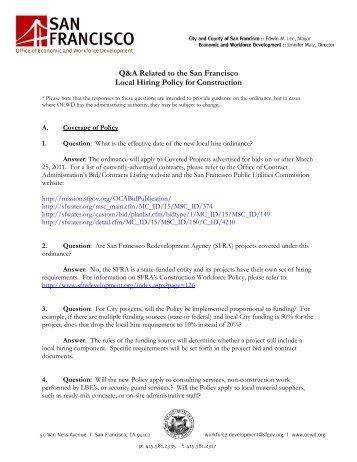 Q&A - Local Hire Questions _6.13.11_ - Workforcedevelopmentsf.org