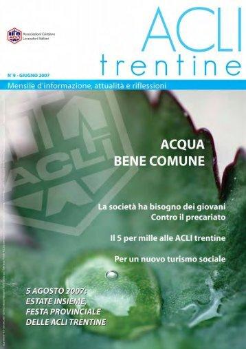 Acli Trentine GIUGNO 2007