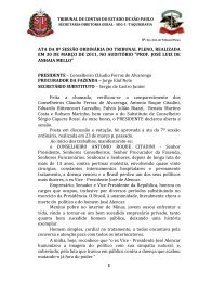 1 ata da 8ª sessão ordinária do tribunal pleno, realizada em 30 de ...