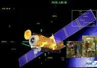 太陽観測衛星「SOLAR-B」 - 国立天文台