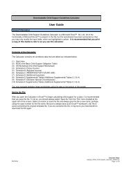 Child Support Worksheet and Schedules - pdf
