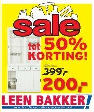 tot 50% - Leenbakker