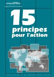 15 principes pour l'action - Uccle
