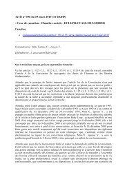 Arrêt n° 536 du 19 mars 2013 (11-28.845) - Cour de ... - West
