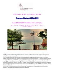 PROGRAMMA PRELIMINARE - Associazione Italiana Epidemiologia
